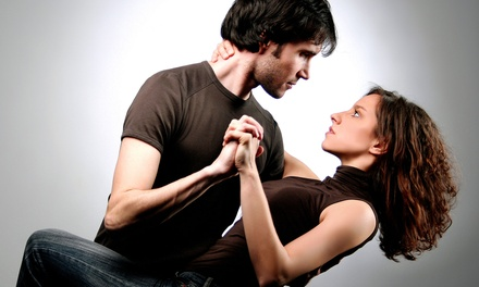 $25 for Two Private Ballroom-Dancing Lessons and a Group Practice Party at It's a Great Day for Dancing ($80 Value)