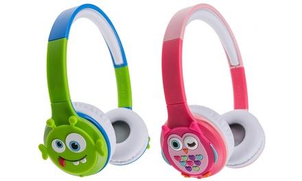 Kids Rechargeable Wireless Bluetooth On-Ear Headphones