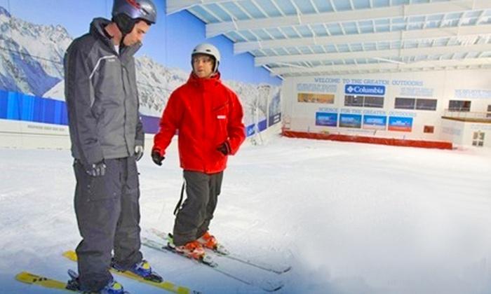 Hemel Snowcentre Ltd t/a The Snow Centre - Hemel Hempstead: Beginners' Skiing or Snowboarding Lesson With Lunch for £69 at The Snow Centre, Hemel Hempstead (57% Off)