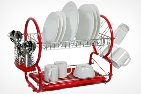 Today S Groupon For Bosco Two Tier Dish Drainer 16