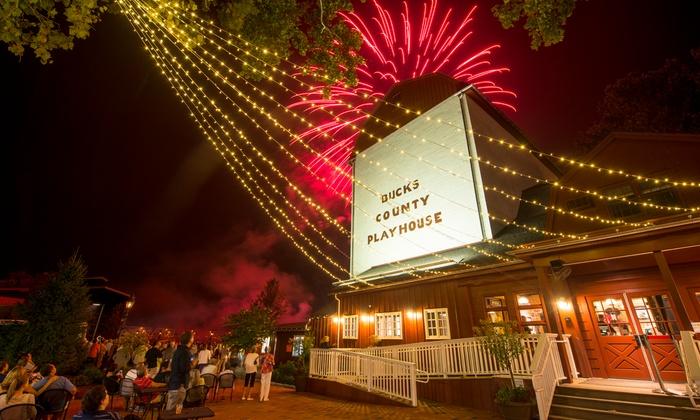 Playhouse Riverview Café - New Hope: CaféDinner for Two or Four at Playhouse Riverview Café(35% Off)
