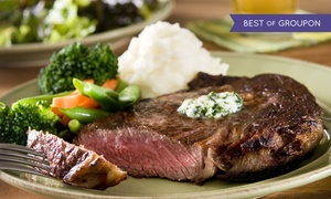 Snuffy's Famous Steak House: Dinner for Two or Four at Snuffy's Famous Steak House (Up to 44% Off)