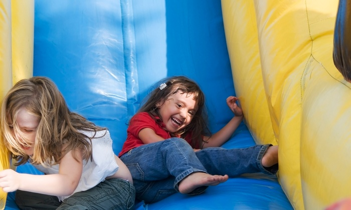 Frogg's Bounce House - Fountain Valley: $10 for Five All-Day Bounce Sessions for One Child, Valid Monday-Friday at Frogg's Bounce House (Up to $50 Value)