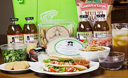 $22 for a Taco Fiesta for 4 or Spaghetti Feast for 4 Dinner Kit with Delivery from Greenling ($40 Value)