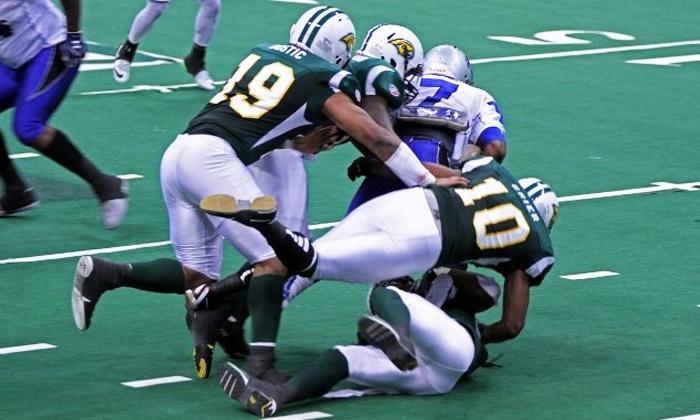 Alabama Hammers vs Columbus Lions - Von Braun Center Arena: $9 for an Alabama Hammers Indoor Football Game at Von Braun Center on Saturday, June 20, at 7 p.m. ($18.75 Value)