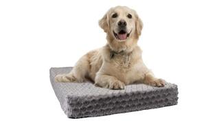 Pet Orthopedic High-Density Foam Crate Mat with Plush Fur Cover: Pet Orthopedic High-Density Foam Crate Mat with Plush Fur Cover