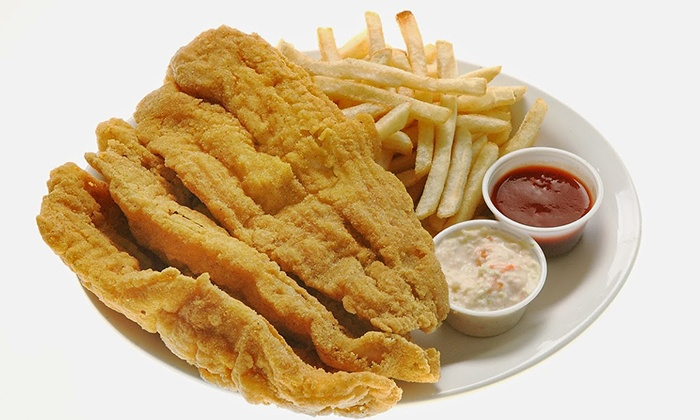 Sharky's Fish & Chicken - Etobicoke North: Hand-Breaded Fried Chicken and Fish at Sharky's Fish & Chicken (Up to 50% Off). Three Options Available.
