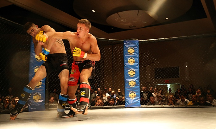 "MMA Cage Fighting Series ""Battle In The Ballroom"" - ROBERT TREAT HOTEL: MMA Cage Fighting Series ""Battle In The Ballroom"" at the Robert Treat Hotel on August 28 (Up to 41% Off)"