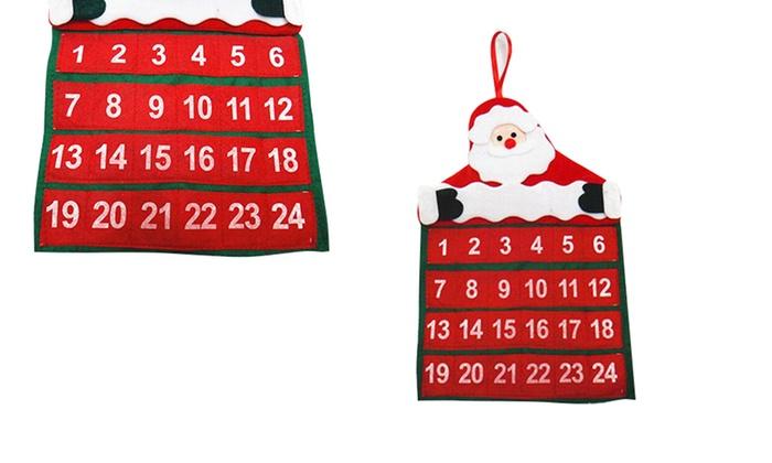 Groupon Calendario.Calendario Dell Avvento Da Appendere
