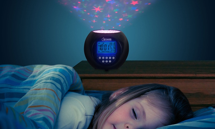 Star Projector Lullaby Alarm Clock Groupon