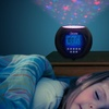 Star Projector Lullaby Clock