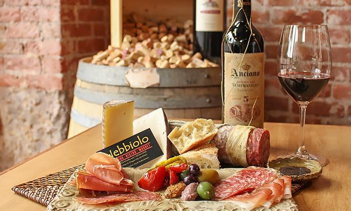Nebbiolo Restaurant & Wine Market - Clackamette Park: $26 for $40 Worth of Upscale Cuisine and Tapas at Nebbiolo Restaurant & Wine Market