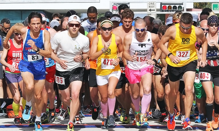 Chicago Double Racing Festival - Odeum, Villa Park: Entry to 8K or 15K Double Road Race on June 14, 2014 from Chicago Double Racing Festival (Up to 43% Off)