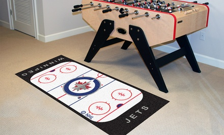 NHL Hockey Rink Runner Carpets