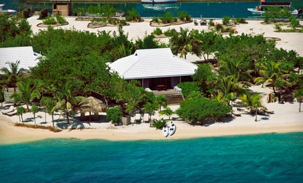 3-, 5-, or 7-Night Stay for Two with Optional Welcome Drinks at Barefoot Cay Resort in Honduras