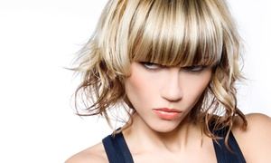 Salon Xcess: Hairstyling Services at Salon Xcess (Up to 55% Off). Three Options Available.