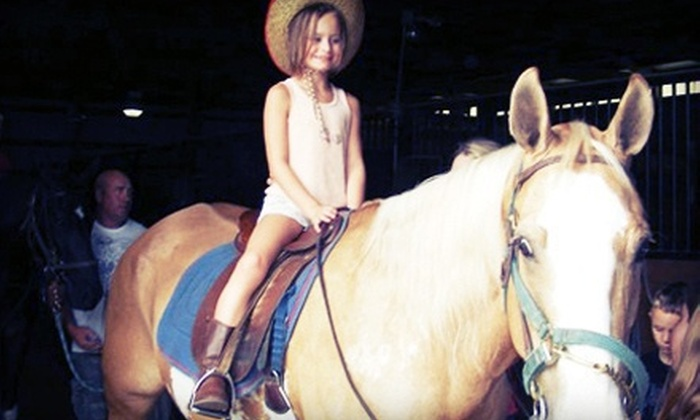 Linden Hill Stables - Kearney: $99 for a Two-Hour Horseback-Riding Birthday Party for Up to Five Kids at Linden Hill Stables ($200 Value)