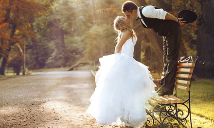 Wedding Photography Package with a 30-Page Photobook from GN Photography (74% Off)