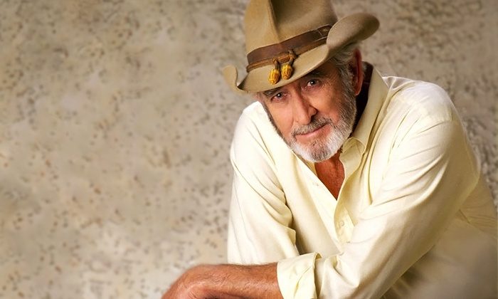 Don Williams - Palace Theatre: Don Williams at Palace Theatre on April 23, at 7:30 p.m. (Up to 40% Off)