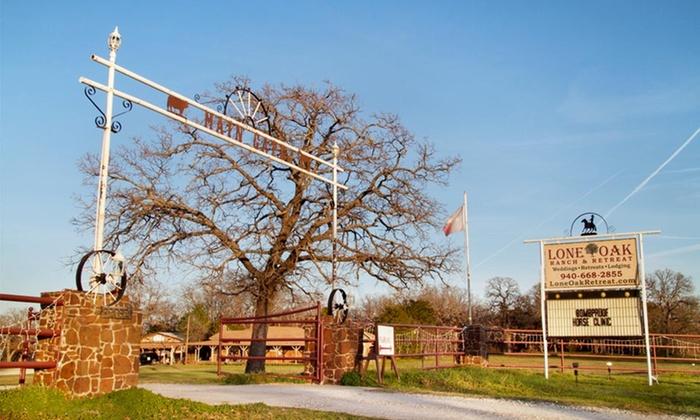 Lone Oak Ranch and Retreat - Gainesville Southeast: 1- or 2-Night Stay at Lone Oak Ranch and Retreat in Gainesville, TX