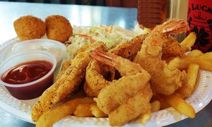 Lucky Duck Cafe: $13 for $23 Worth of Southern Comfort Food for Lunch or Dinner at Lucky Duck Cafe