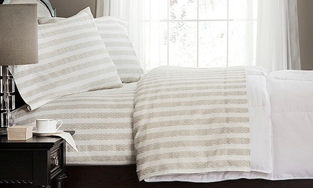 Ellen Tracy 100% Egyptian Cotton Printed Sheet Sets from $34.99–$44.99
