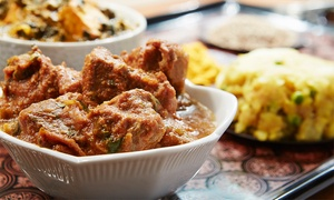 India Palace Restaurant: Dinner for Two or Four at India Palace Restaurant (43% Off)