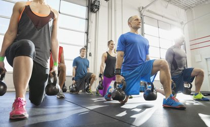 image for Two Weeks or One Month of Beginner/Intro Crossfit Classes at CrossFit Five Flags (Up to 65% Off)