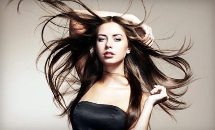 45 to 60-Minute Women's Haircut - Wavelengths Hair & Nail Salon in Santa Fe