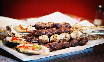 Chinese Barbecue for Two or Four at Wow Barbecue (Up to 48% Off)