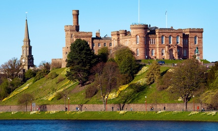 Scottish Highlands: 1–2 Nights for Two or Three with English Breakfast and Wine at Kinkell House Hotel