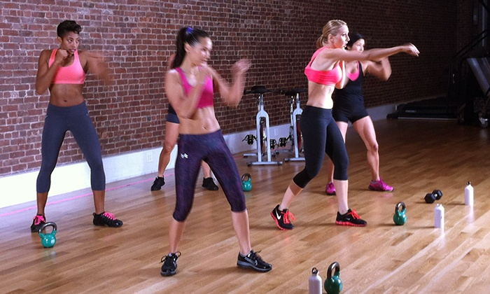 Kettlebell Kickboxing - Chinatown: 5, 10, or 20 Drop-In Kettlebell Kickboxing Classes at Kettlebell Kickboxing (Up to 75% Off)