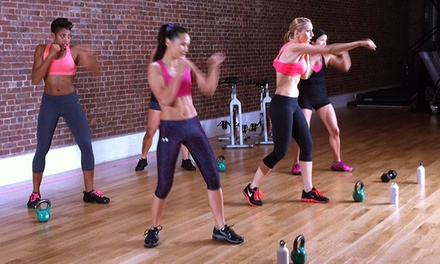 5, 10, or 20 Drop-In Kettlebell Kickboxing Classes at Kettlebell Kickboxing (Up to 75% Off)