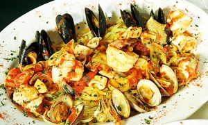 Trattoria Lucia: Italian Food for Dinner at Trattoria Lucia (Up to 40% Off). Two Options Available.