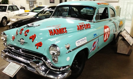 Annual Individual or Family Membership to R.E. Olds Transportation Museum (Up to 49% Off)