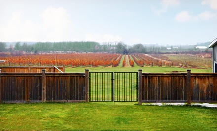 2-Night Stay with Winery Tours, Cheese Tasting, Breakfast, and Wine from Crush on Niagara in Niagara Wine Country, ON