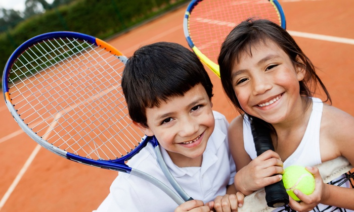 Cross Gates Family Fitness - 9: Five Kids' Group Tennis Lessons or Four Adult Beginner Tennis Classes at Cross Gates Family Fitness (Up to 59% Off)