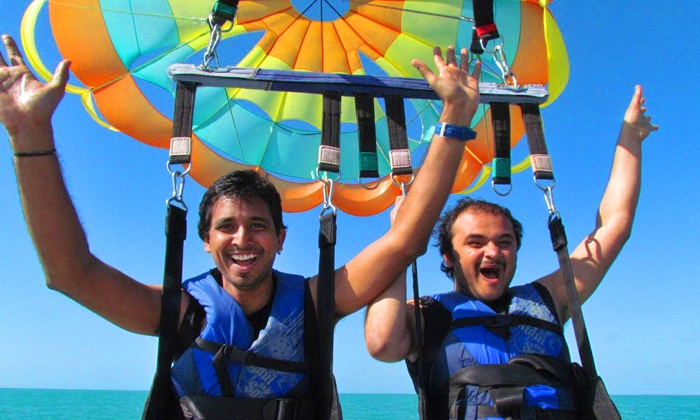 ParaWest Parasailing - Key West: $45 for One Tandem Parasail Ride at ParaWest Parasailing ($75 Value)