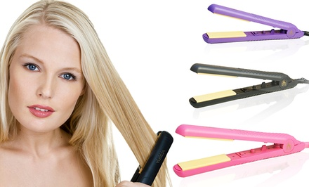groupon daily deal - Versha Bliss Professional Hair Straightener in Black, Pink, or Purple