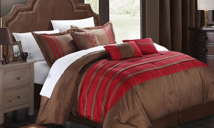 7-Piece Tuscan and Torino Comforter Sets