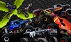 Monster X Tour - Cross Insurance Center: Monster X Monster-Truck Show with a Pit-Party Pass on April 8 or 10