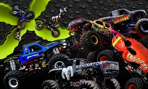 Monster X Tour: Monster X Monster-Truck Show with a Pit Pass on Friday, December 4, at 6 p.m.