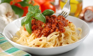 Pasta N Pizza: Italian Food at Pasta N Pizza (Up to 45% Off). Two Options Available.