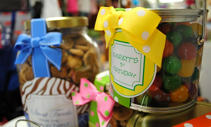The Little Monogram Shop - Old Town: $20 for $40 Worth of Personalized Gifts at The Little Monogram Shop