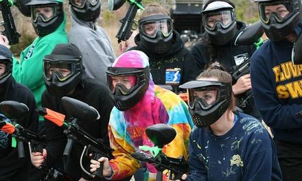 Paintball Packages for One, Two, or Five at Adventure Sports Park (Up to 54% Off)
