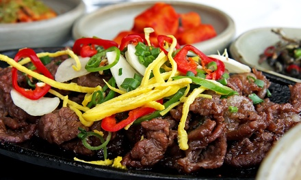 Authentic Korean Dinner for Two or Four at Korea House (Up to 49% Off)