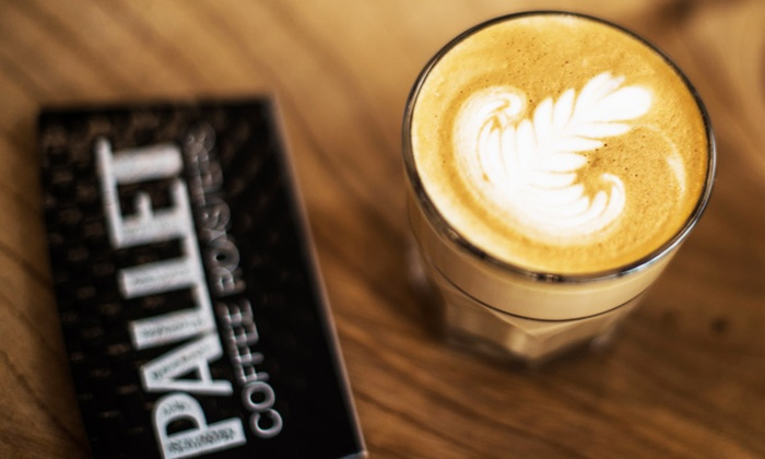 Pallet Coffee Roasters - Grandview-Woodland: Two Bags of Coffee Beans or Five Groupons, Each Good for a Drink at Pallet Coffee Roasters (Up to 44% Off)