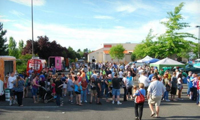 Portland Summer Food Cart Festival - Gresham-Northeast: VIP Admission for One or General Admission for Two to Portland Summer Food Cart Festival, Saturday, June 22 (Half Off)