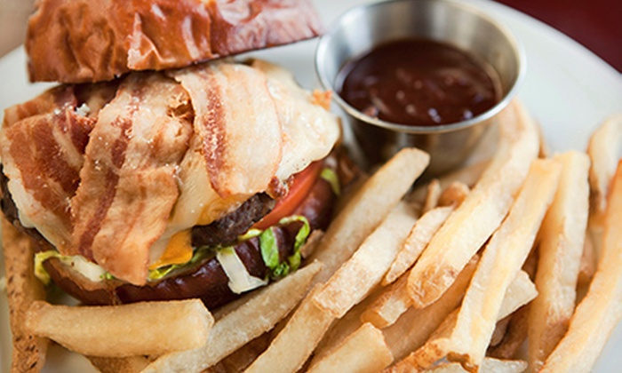 The Loaded Slate - Kilbourn Town: Pub Food for Two or Four or Three-Hour Party-Room Rental at The Loaded Slate (Up to 72% Off)