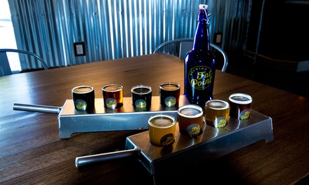 Beer Flights and Growlers for Two or Four at Fat Point Brewing (Up to 51% Off)